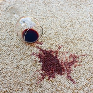 Red Wine Carpet Stain Sacramento CA